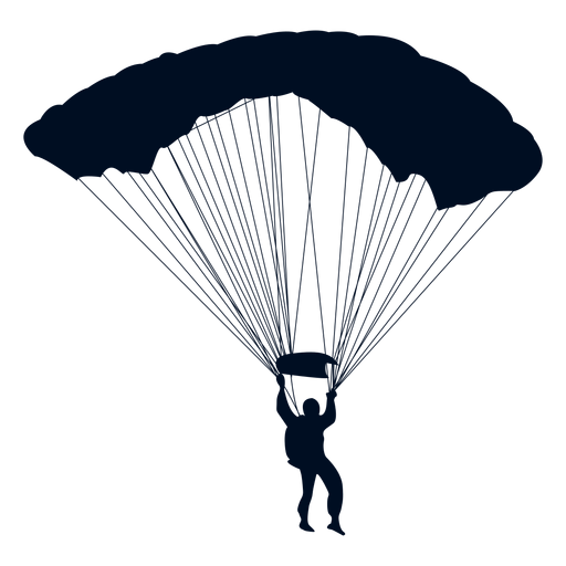 Pubg Parachute Wallpaper Hombre Cayendo Con Silueta De Paraca 237 Das Descargar Png