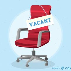 Office Chair Illustration Vibrating Baby Vacant Vector Download