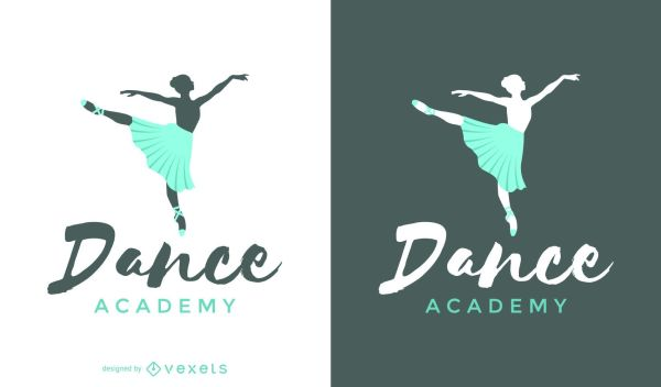 Ballet Dance Logo Template - Vector