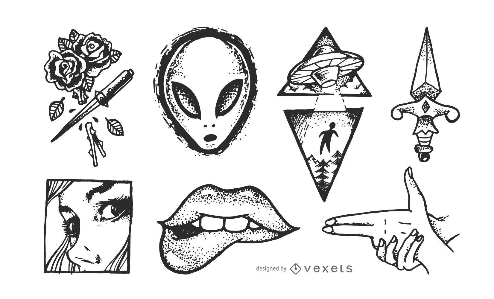 Cd Desenhos Tattoos