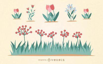 flower vector download 68