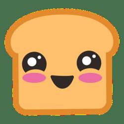 emoji toast transparent tostadas svg lindo bread brinde vexels clip