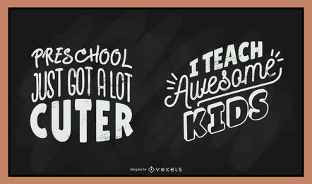 chalkboard vector graphics to