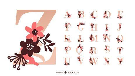 alphabet vector graphics to