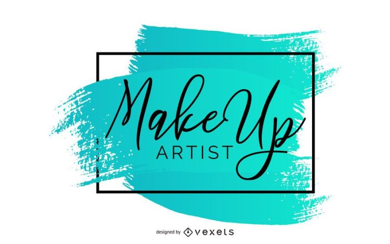 Makeup Artist Creative Banner Vector