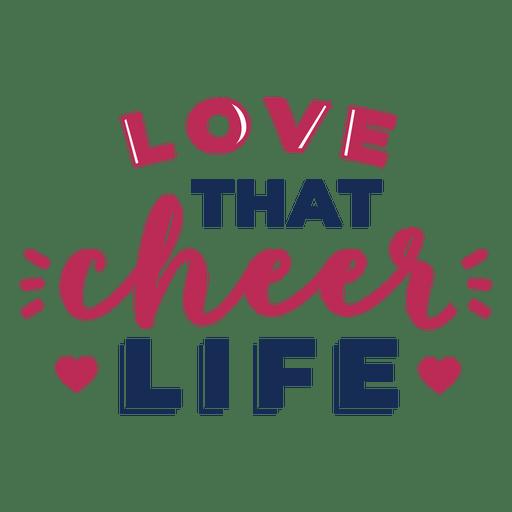 Download Love cheer best lettering - Transparent PNG & SVG vector file