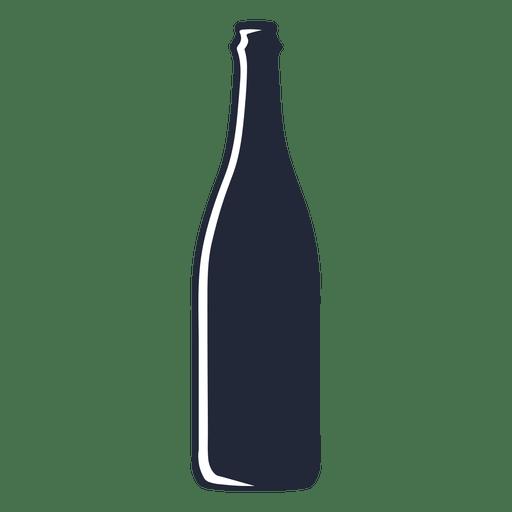 Download Beer bottle silhouette beverage - Transparent PNG & SVG ...