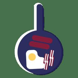 breakfast icon pan english vexels