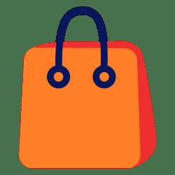 bag icon shopping transparent svg compras icono bolsa vector vexels