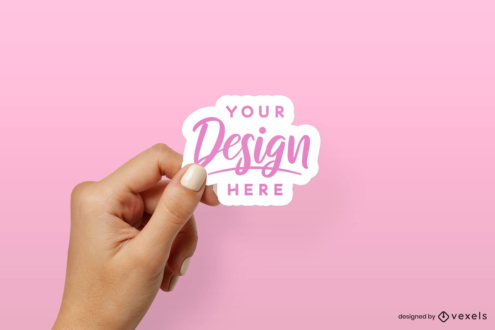 If you are a graphic designer advertisiser, website designer or web developer, then you can easily get benefit from this site. Sticker Psd Mockup Editable Template To Download
