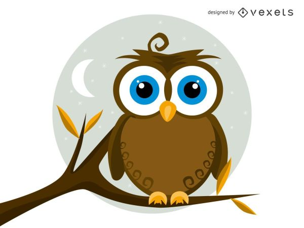 Owl-Vector-Illustration