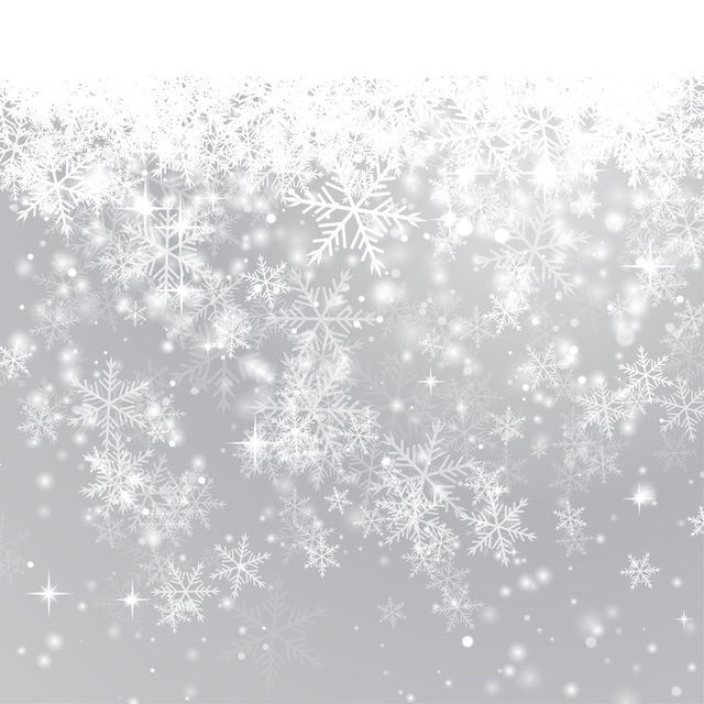Iphone 5 Falling Snow Wallpaper Winter Snowflake Background Vector Download