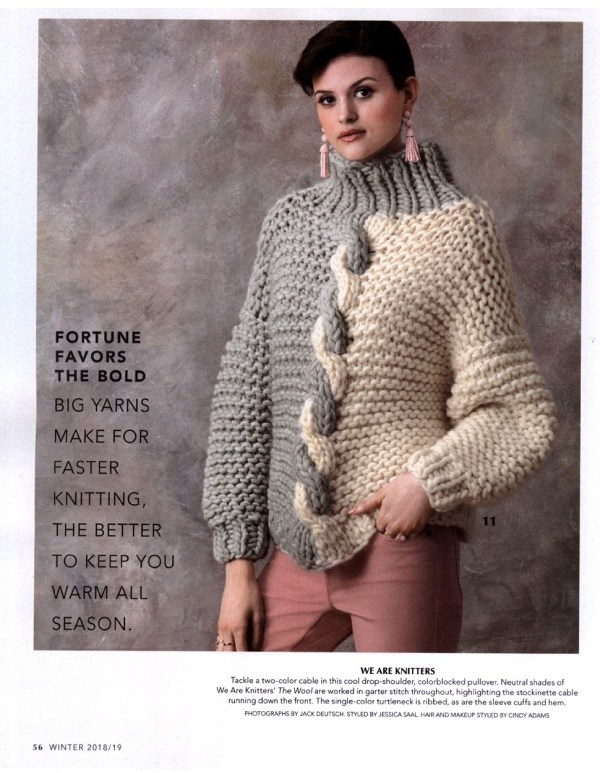 20+ Vogue Knitting Winter 2018 Pictures and Ideas on Weric
