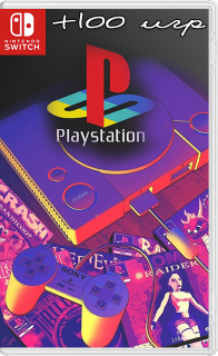 25866763 - Sony PlayStation Emulator in Switch + 100 classic games