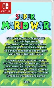 26056967 - Super Mario War NX Switch NSP Homebrew
