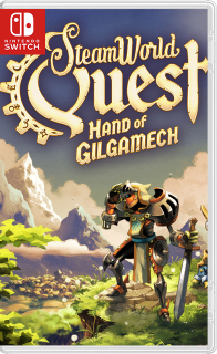 26174602 - SteamWorld: Collection (Dig 1/2 + Heist Ultimate Edition + Quest: Hand of Gilgamech) Switch NSP