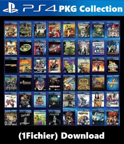 PS4 PKG 2020 Collection Download (1Fichier) FW 6.72 & 5.05