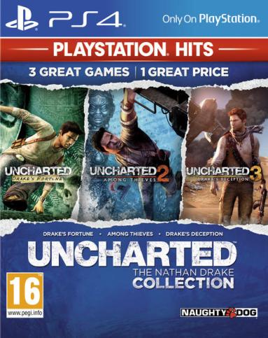 Uncharted 1 2 3 The Nathan Drake Collection PS4 PKG