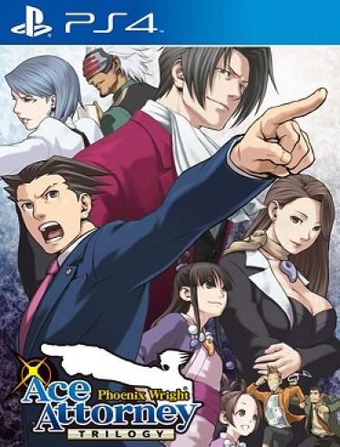 Phoenix Wright Ace Attorney Trilogy PS4 PKG