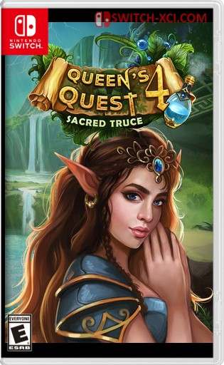 Queens Quest 4 Sacred Truce Switch NSP XCI