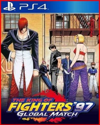 THE KING OF FIGHTERS 97 GLOBAL MATCH PS4 PKG