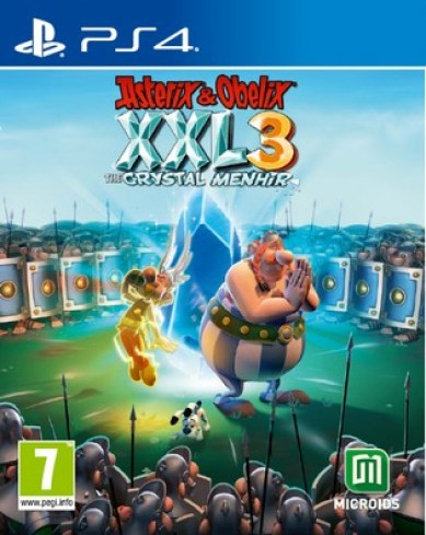 Asterix and Obelix XXL3 The Crystal Menhir PS4 PKG