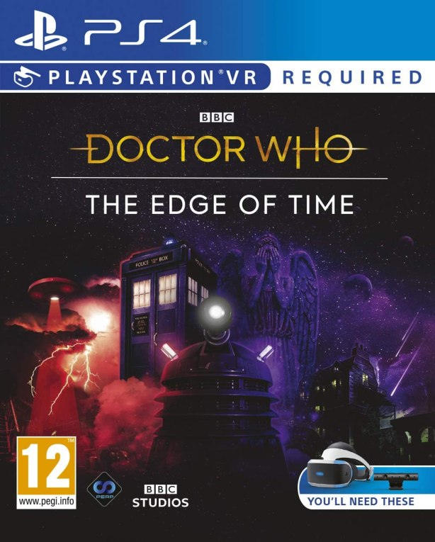 doctor who the edge of time ps4 PKG