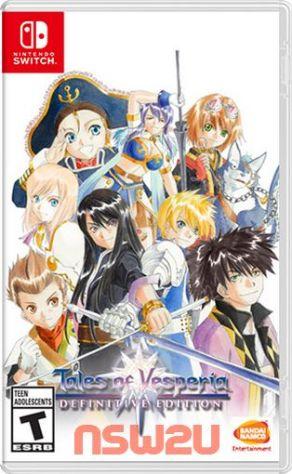 Tales of Vesperia Remaster Definitive Edition テイルズ オブ ヴェスペリア リマスター Switch XCI NSP