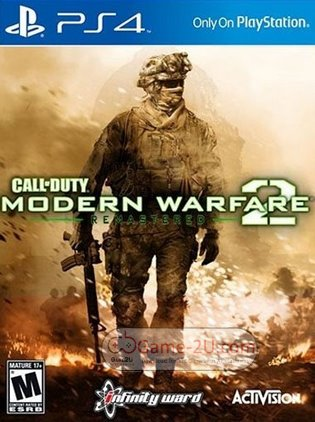 Call of Duty Modern Warfare 2 Campaign Remastered PS4 PKG