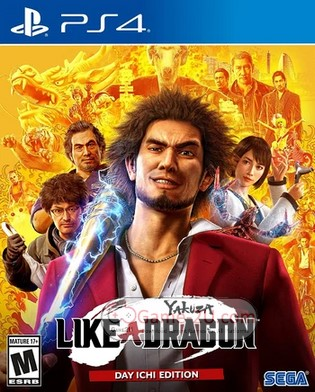 Yakuza 7 Like a Dragon PS4 PKG