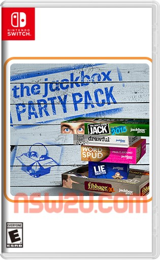 The Jackbox Party Pack 1 Switch NSP XCI