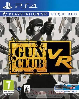 Gun Club VR PS4 PKG