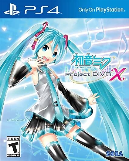 Hatsune Miku Project DIVA X PS4 PKG
