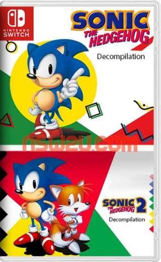 Sonic 1-2 Classic Switch NSP Homebrew