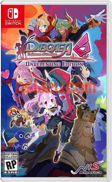 Disgaea 6 Defiance of Destiny Switch NSP XCI NSZ