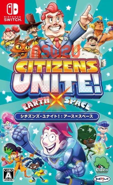 Citizens Unite! Earth x Space Switch NSP XCI NSZ