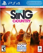 Let's Sing Country PS4 PKG
