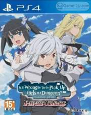 Is It Wrong to Try to Pick Up Girls in a Dungeon? Familia Myth Infinite Combate PS4 PKG