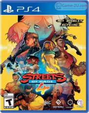 Streets Of Rage 4 PS4 PKG