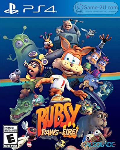 Bubsy Paws on Fire PS4 PKG