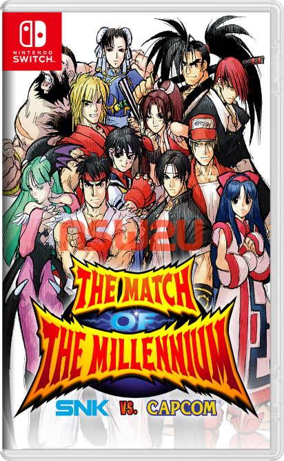 SNK VS. CAPCOM THE MATCH OF THE MILLENNIUM Switch NSP XCI NSZ torrent download