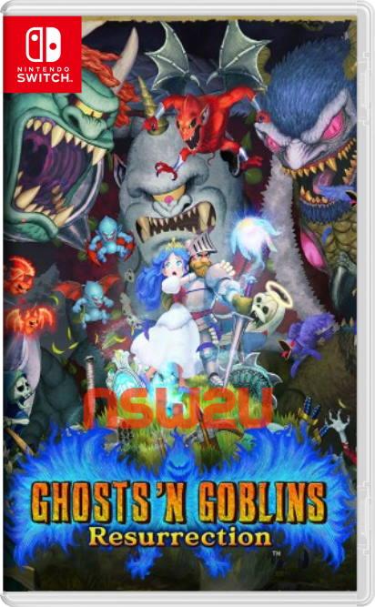 Ghosts n Goblins Resurrection Switch NSP XCI NSZ