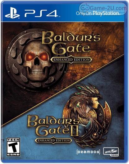 Baldurs Gate I and Baldurs Gate II Enhanced Editions PS4 PKG