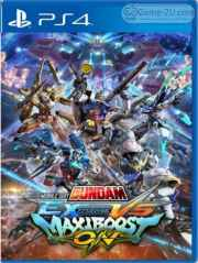 MOBILE SUIT GUNDAM EXTREME VS. MAXIBOOST ON PS4 PKG