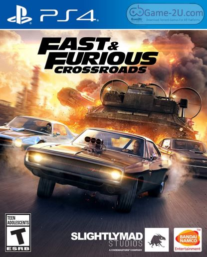FAST and FURIOUS CROSSROADS PS4 PKG