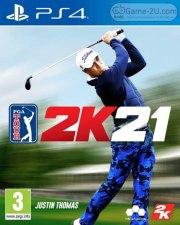 PGA TOUR 2K21 PS4 PKG