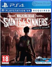 The Walking Dead: Saints & Sinners PS4 PKG