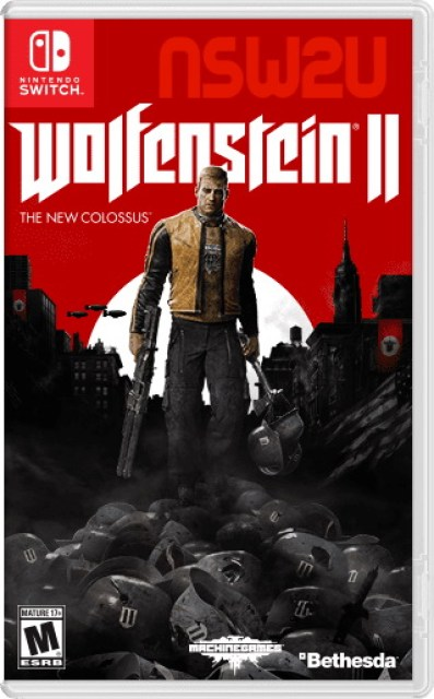 Wolfenstein II The New Colossus switch NSP XCI NSZ