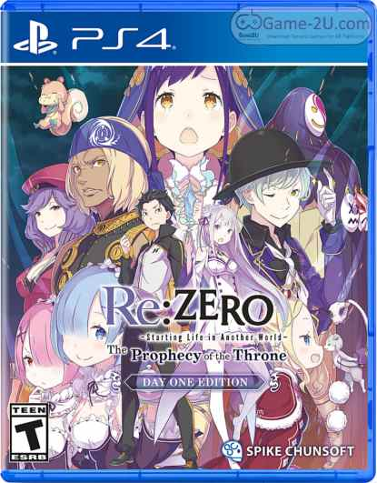 Re ZERO -Starting Life in Another World- The Prophecy of the Throne PS4 PKG