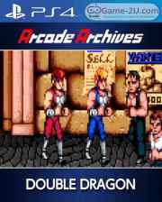 Arcade Archives DOUBLE DRAGON PS4 PKG